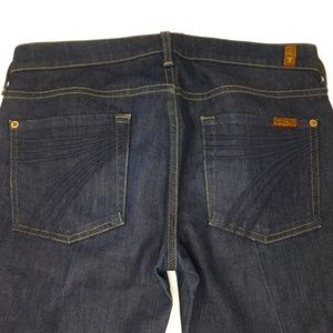7 For All Mankind Dojo Jeans Dark Wash